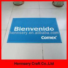 3D OEM logo soft pvc rubber entrance mat
