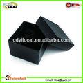 Boîtes-cadeau brillantes noires de qualité