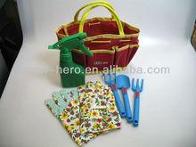 Childrens Garden Tool Bag Gift Set