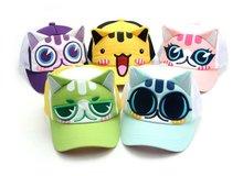 Miau cat character baseball mesh cap from Korea