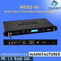 HD 2 CI Slot Cheap Satellite TV Decoder