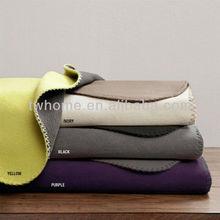 Premier Comfort Reversible Micro Fleece Blanket Factory China