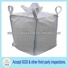100% new fibc jumbo big bag with filling spout