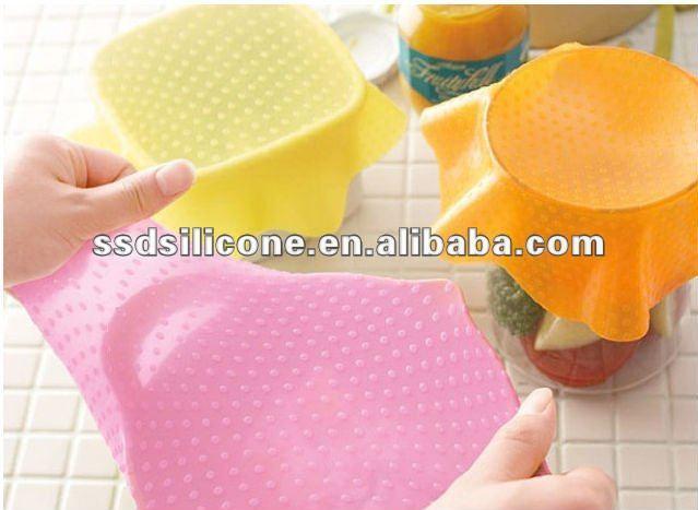 silicone wrap keeping food fresh