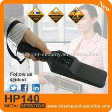 HP140 Hand Held Metal Detector patrol hawk gsm security alarm systems ph-g50b