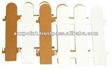 Plastic Wooden Design Fencing - 1178
