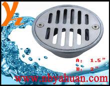 Zinc alloy chrome plated floor drain floor strainer
