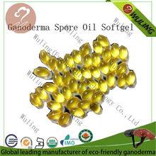Hot sale ganoderma extract oil softgel