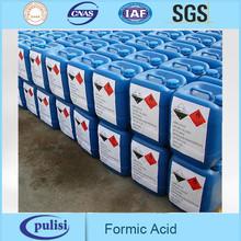 Alimentação ácido fórmico 85% tanques e 25kgs / 35kgs / 250kgs / IBC tambor
