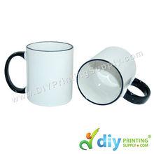 Colour Mug (Outer Black) for Mug Printing Business