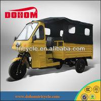 150cc Steel Cabin Passenger Tricycle/Tuk Tuk/Rickshaw