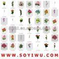 orquídea de seda arranjos florais para atacadista de flores artificiais