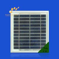 4W 18V Small Power Polycrystalline Solar Panel korea