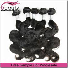 Free Sample 8A brazilian body wave cheap human hair extension