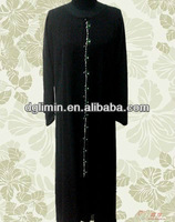 Noble Latest Design Muslim Dress Hot Sale Dubai Abaya