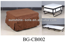 Hotel Metal Rollaway Extra Folding Bed With Wheel