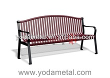 YODA Metal Outdoor Bench/ Professional Manufacturer with 20 years experience