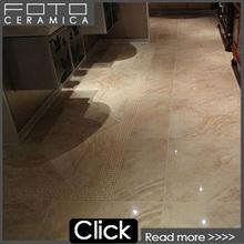Hot sale beige marble marco polo porcellanato ceramic tile price