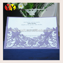 wedding invitations card, Laser Cut Invitation Cards wholesale and retail free logo