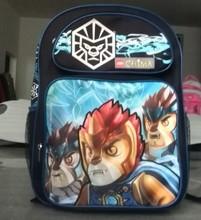 Eco-green students teenage school backpacks