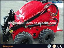 Pop Mini wheeled loader on sale! Petrol powered mini skid steer loader.
