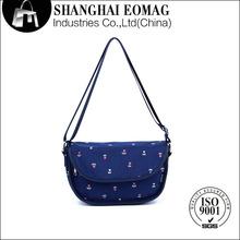 Flower pattern Eco-friendly messenger bag for women 2014