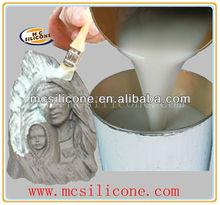 RTV2 rubber brush white silicone case