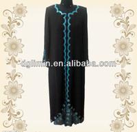muslimah wear elegant jubah with stone 2013