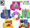 450ml and 4L Colorful Liquid Plastic Dip Coating for Car