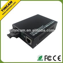 Singlemode dual 1000M ethernet fiber media converter