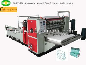 Automatic N Folded Hand Towel Paper Machine