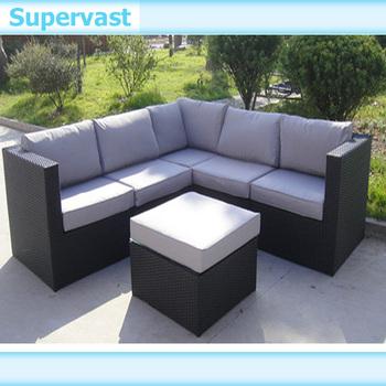 Rattan wicker sofa set collection furniture