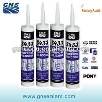 S433 anti-uv acetic silicone sealant