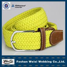 manufacturer design customized women yellow waist belt