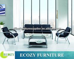 Cheap salon furniture, salon waiting sofa, reception salon sofa chair