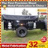 offroad hardfloor clamshell camper trailer