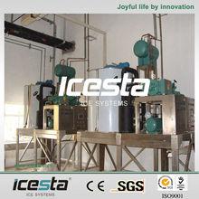 China manufacturer ICESTA large splited Flake ice-making machine