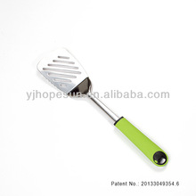 The new born brand new design stainless steel slotted turner