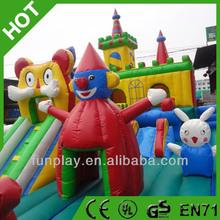 HI EN14960 Funny kids inflatable amusement park ,giant inflatable amusement park