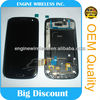 cell phones parts for sale for samsung galaxy s3 i9300 lcd with touch screen, s3 i9300 lcd digitizer