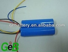 2300mAh 18650 3.7V Rechargeable Lithium ion Battery with PCB and Wire for LED Power batteries, flashlight batteries, laptop batt