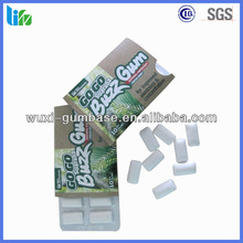 Hot selling spearming chewing gum usa Chewing Gum caffeine free energy\
