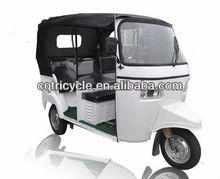bajaj typed auto rickshaw three wheel passenger tricycle motorcycle