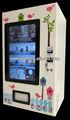 Gumball/caramelo/pelota hinchable/de juguetes de la cápsula de la máquina expendedora para reproductor de anuncios lv-205y-46