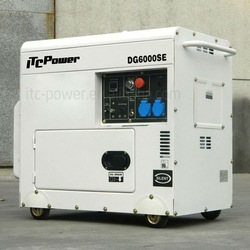5kva diesel generator silent type, generator set, diesel engine supplier of power