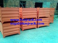 Powder coated folding steel mesh cage
