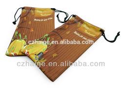 full color printing microfiber mobile accessory