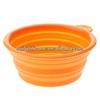 FDA standard no odour foldable silicone pet bowls