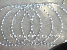QYM-Razor Wire With Clips Stainless Steel Razor Wire