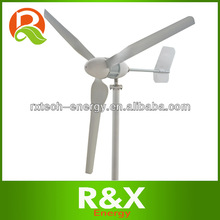 1000w wind generator horizontal axis windmill 48v, low speed start.